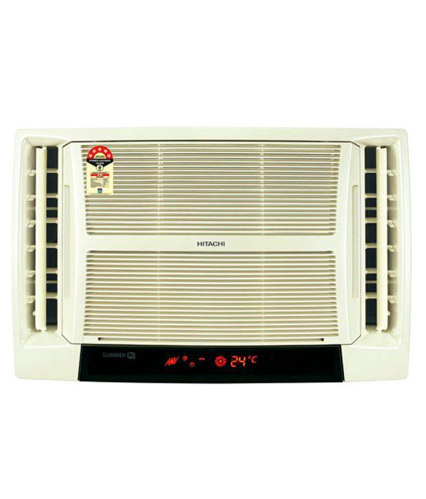 Hitachi 2 ton 2 star rat222hsd window air conditioner for 2 ton window air conditioner
