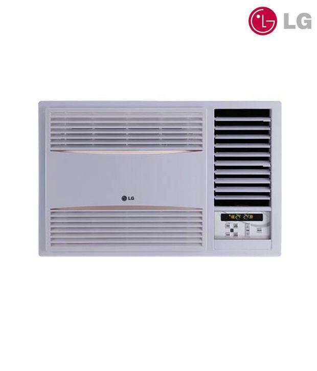 Lg lwa5wr2d window 1 5 ton 2 star air conditioner 2017 for 2 ton window air conditioner