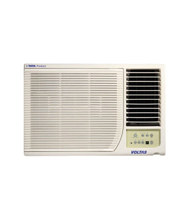 Voltas 1 5 ton 18 hx hot and cold window air conditioner for Window 0 5 ton ac