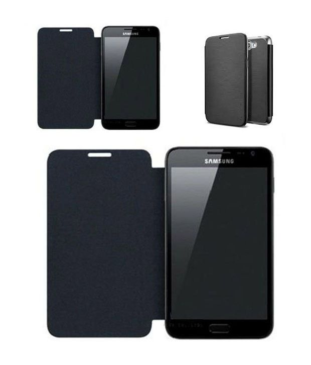 new product 83782 c77a1 Cenizas Flip Case Cover for Samsung Galaxy Note 1-N7000 Black