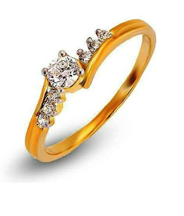 Shashvat Jewels 9KT The Xylos Solitaire Ring with 0.15 ct center Stone