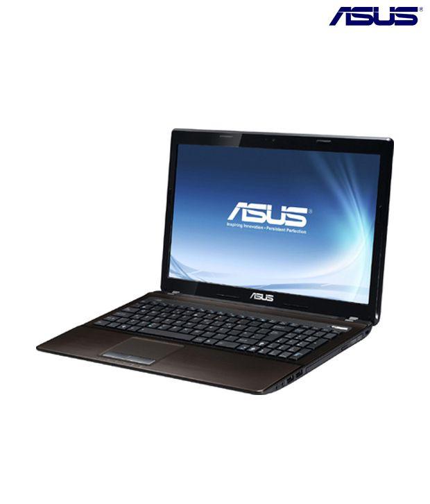 Asus K Series K53SV-SX521V Laptop (Brown Aluminum)