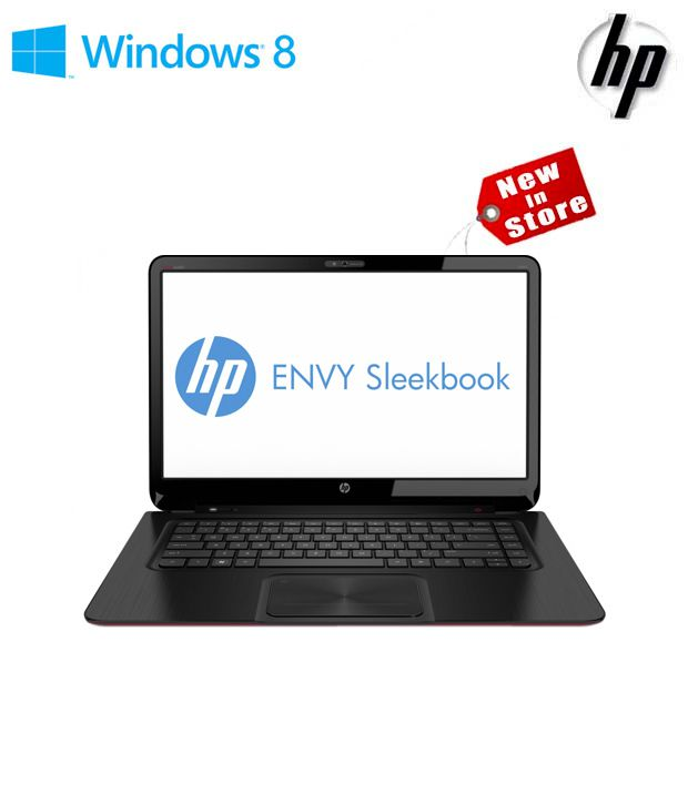 HP Envy 4-1103TU Ultrabook (3rd Gen Ci5/ 4GB/ 500GB/ Win8) (Midnight Black With Soft Touch Ruby Red Vertical Brushing Pattern)