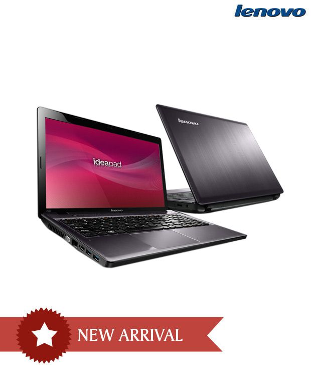 Lenovo Z580 Laptop (3rd Gen Intel Core i5- 4GB DDR3 RAM- 1TB HDD- Win8- Intel HD Graphics 4000) (Metallic Grey)
