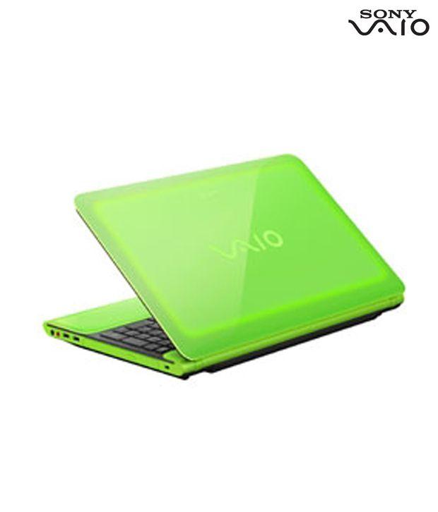 Sony VAIO C Series VPCCB45FN Laptop (Green)