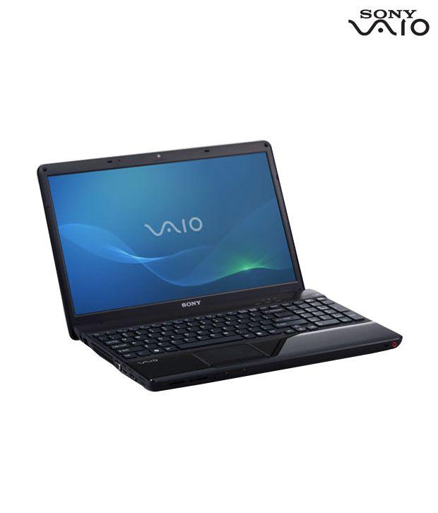 Sony VAIO E Series Laptop VPCEG38FN (Black)