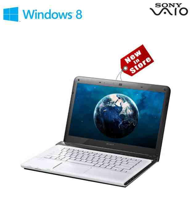 Sony Vaio E14123CN/W (Intel Core i3-3110M / 2GB DDR3 SDRAM / 500GB / 14 Inches / Windows 8 64 Bit / White)