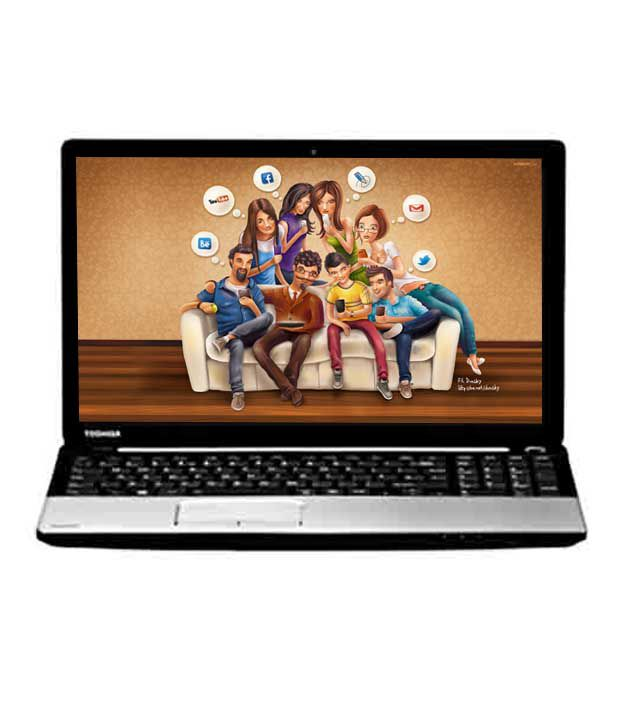 Toshiba Satellite C50-A I0110t TS Screen Laptop (2nd GenCore i3 2348M- 4GB RAM- 500GB HDD- 39.62cm (15.6)- DOS) (Premium Shining Silver with Inlet Logo)