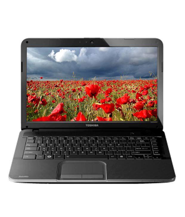 Toshiba Satellite C840-I4011 Laptop (Core i3-2370M-2GB-500GB-DOS-35.56cm (14)- Integrated  3000) (Gloss Precious Black with Crossline Pattern)