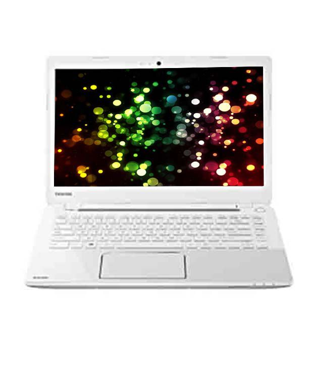 Toshiba Satellite L40-A I0110 Laptop (3rd GenCore i3 3227U- 4GB RAM- 750GB HDD- 35.56cm (14)- Win8) (Luxury White Pearl with Stripes and Inlet Logo)