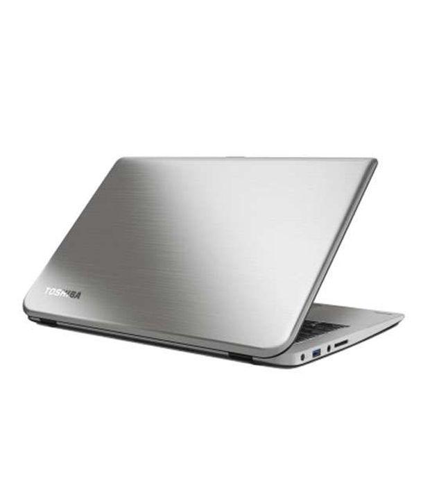 Toshiba Satellite U40-A X0110 Laptop (4th GenCore i5 4200U- 4GB RAM- 500GB HDD- 35.56cm (14)- Win8.1) (Metallic Smart Silver with Hairline)