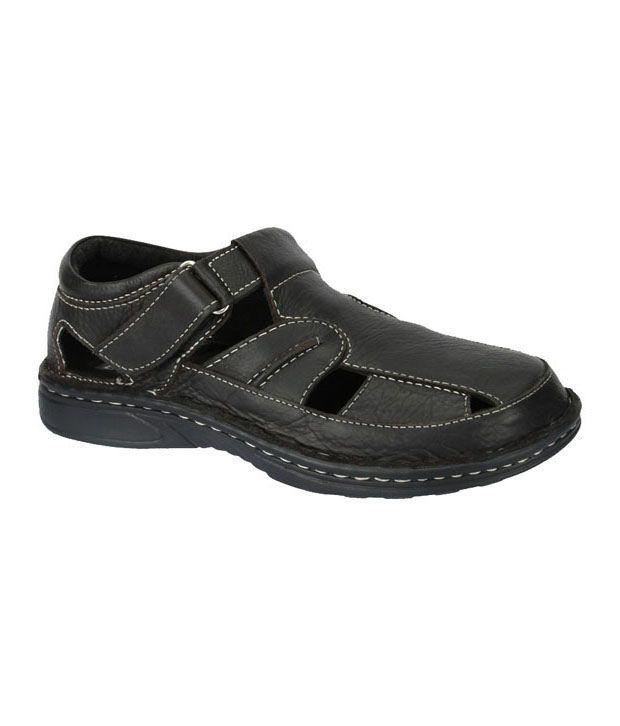 Fermani Go-getter Black Sandals