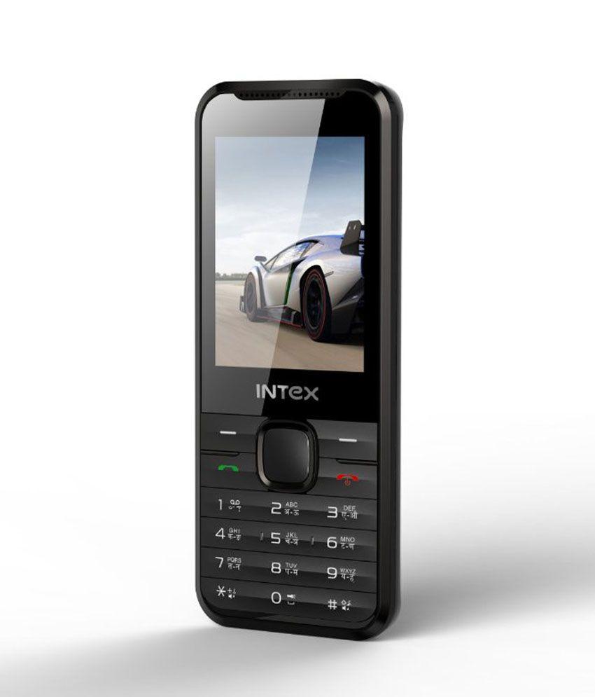 Intex Pride LX (Grey) Mobile Phone