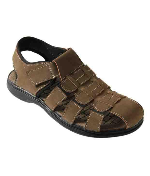 Roony Highflier Brown Sandals