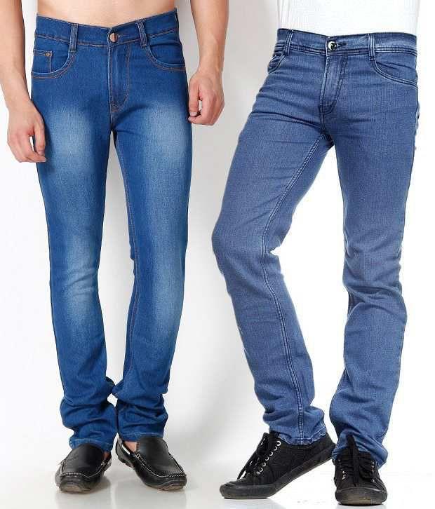 SF JEANS Blue Regular  Fit Jeans