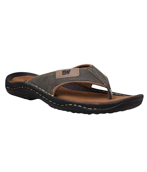 12cac7c0d50 Weinbrenner Stylish Brown Slipper Price in India- Buy Weinbrenner Stylish  Brown Slipper Online at Snapdeal