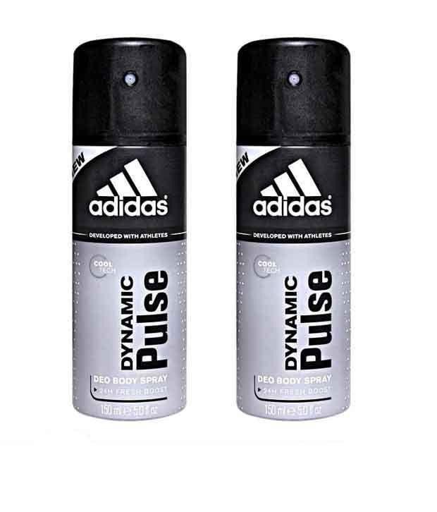 Adidas Dynamic Pulse Men Pack of 2 - 150ml Each