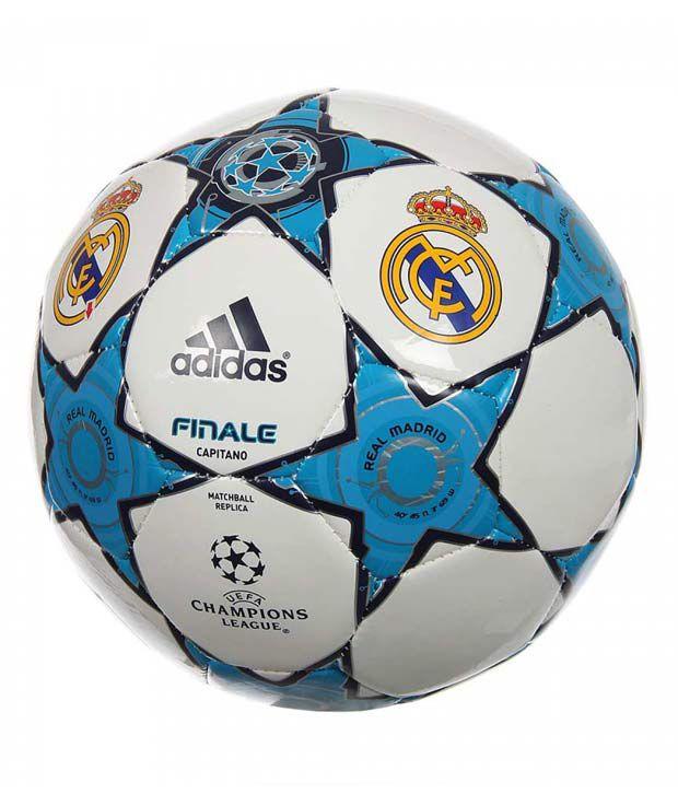 super popular 8ed2f 2b299 Adidas Real Madrid UEFA Champions League Football