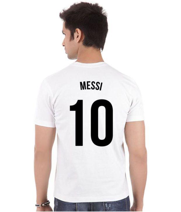 ea27dcff6ab ... Bluegape Lionel Messi Quote Argentina Fc Barcelona Fifa World Cup 2014  T-Shirt