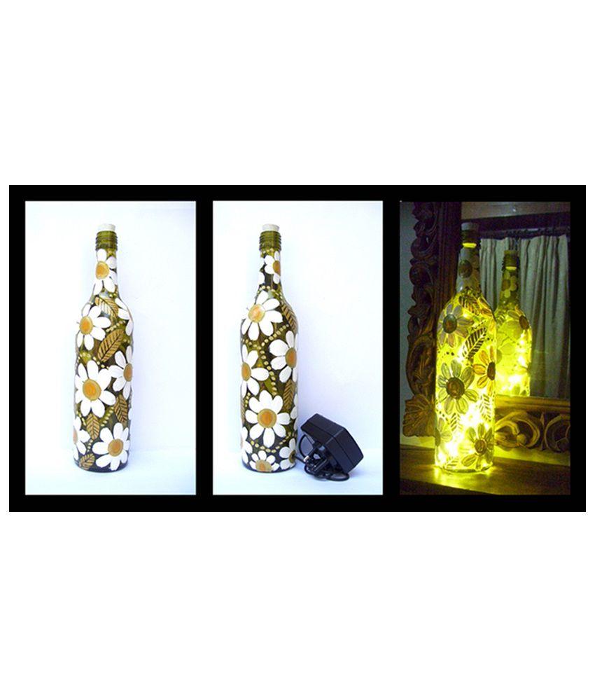 Bottles not empty bottles not empty multicolour glass for Flowers in glass bottles