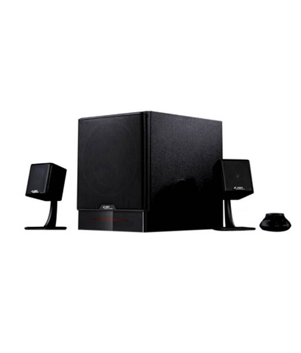 F&D F680 2 1 Multimedia Speakers 5500W Super Bass With Class D Amplifier  and Champagne Satellites