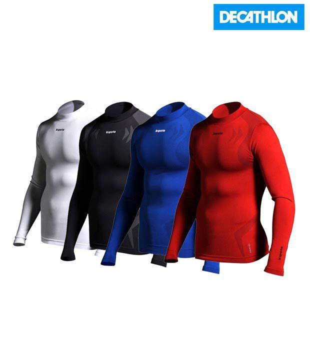 Kipsta Black Football Undershirt 8139544