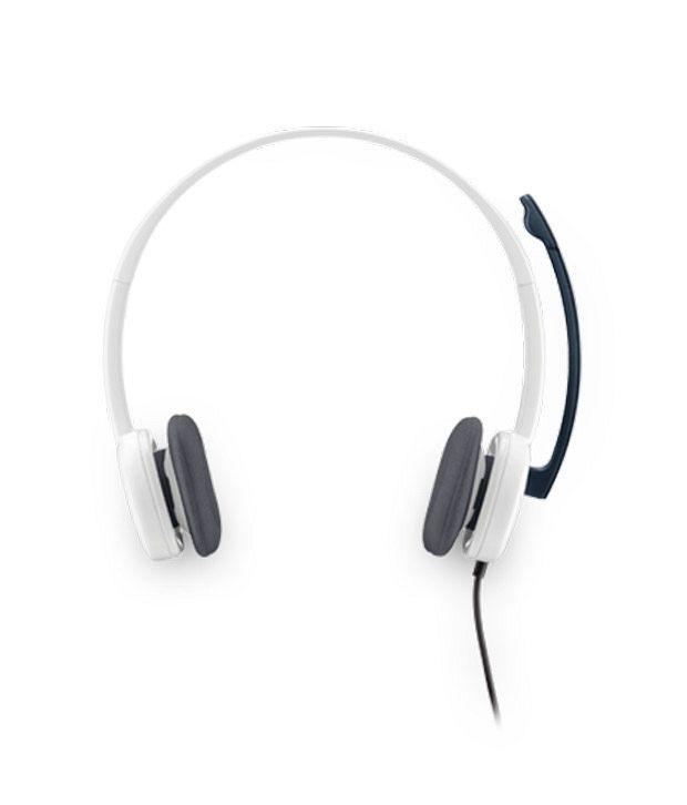 Logitech Stereo H150Headphone (White)