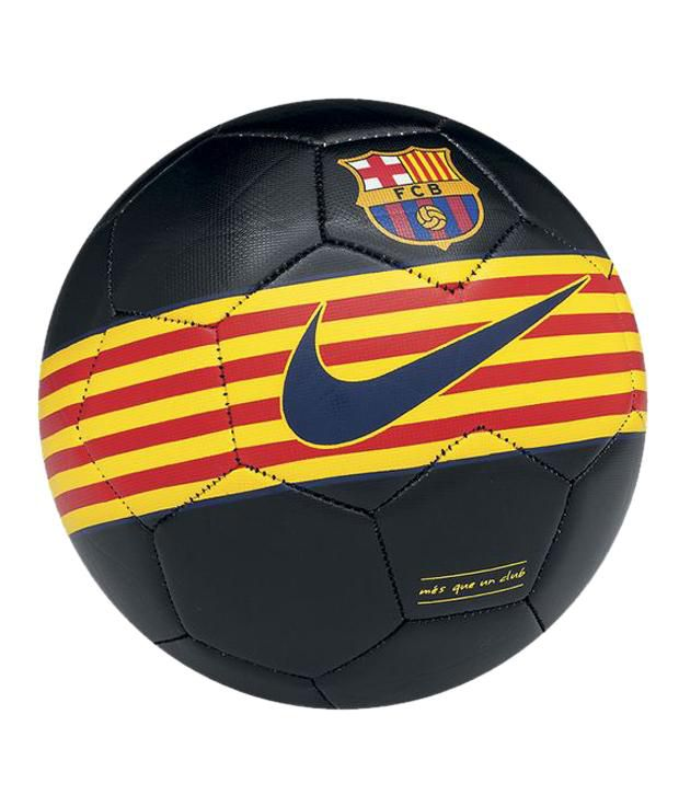 Nike FC Barcelona Prestige Football   Ball Black Yellow Red (Size 5)  Buy  Online at Best Price on Snapdeal b0218c01104