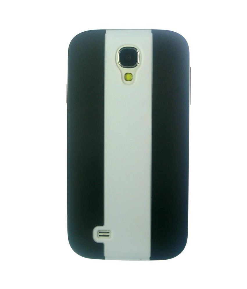 Samsung Galaxy S4 i9500 Colored Hard Back Cover - Black/White