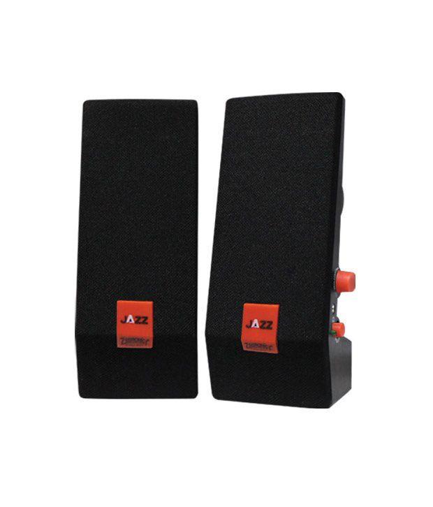 Zebronics Jazz Zeb S380 2.0 Speakers - Black