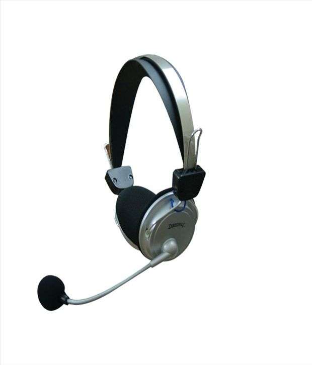 Zebronics ZEB-1000HMV Headphone Silver