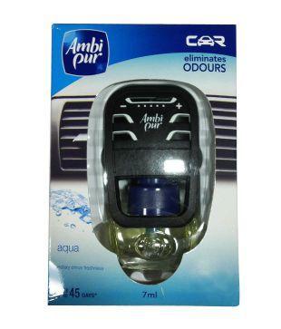Ambipur Car Perfume Aqua Starter - 7ml