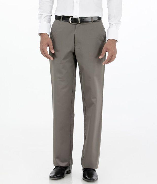 Basics Gray Comfort Semi Formals Flat