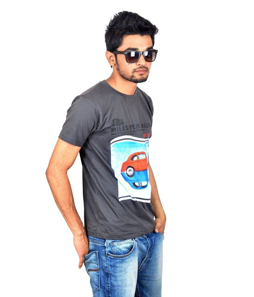 Drakeman Black speed casual tees