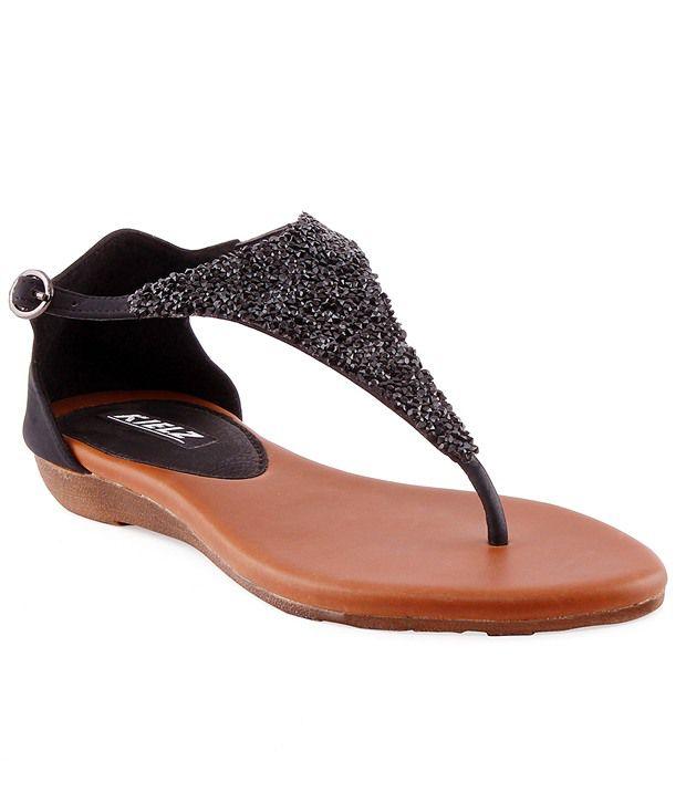 Kielz Black Sandal