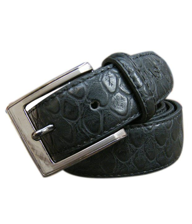 WINSOME DEAL Black Formal Single Belt ForMen NO