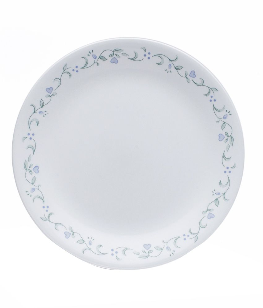 corelle 6 pcs dinner plates livingware country cottage by rh snapdeal com