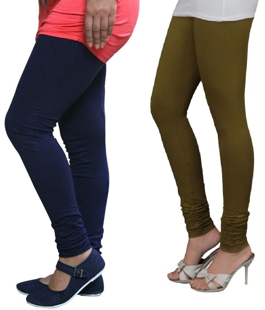 ad294cf698838 Stylobby Navy Blue And Olive Green Viscose Pack Of 2 Leggings Price in  India - Buy Stylobby Navy Blue And Olive Green Viscose Pack Of 2 Leggings  Online at ...