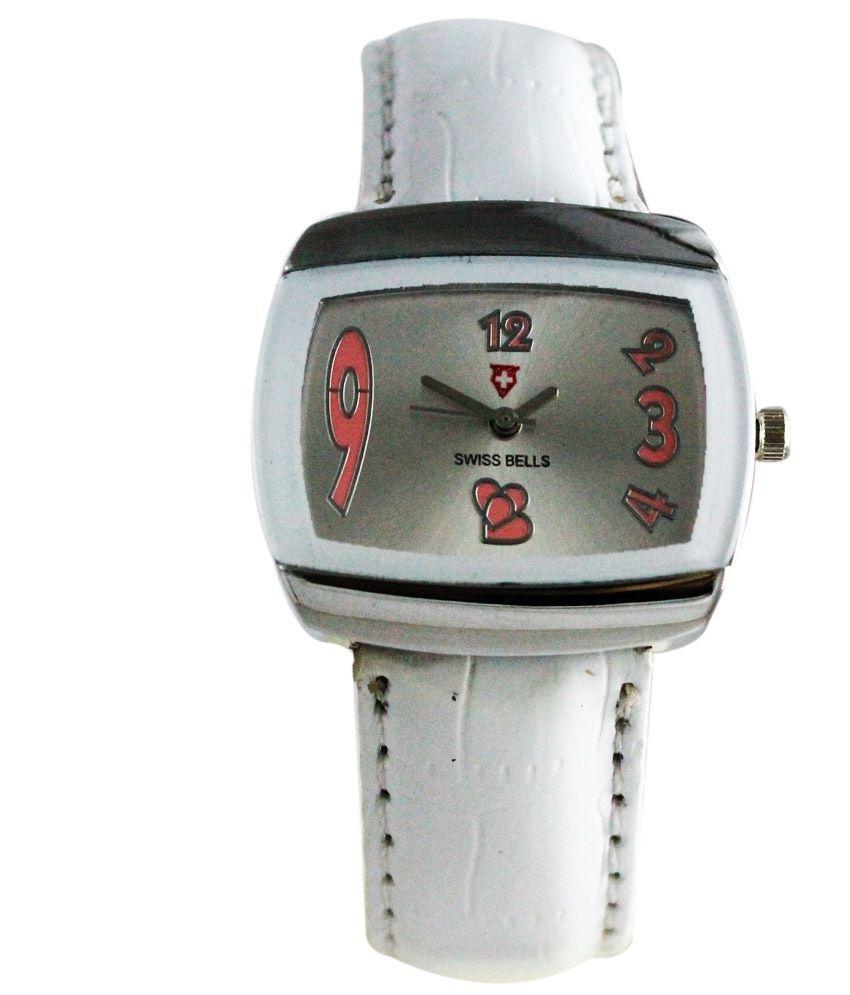 swiss bells white analog watch price in india buy swiss