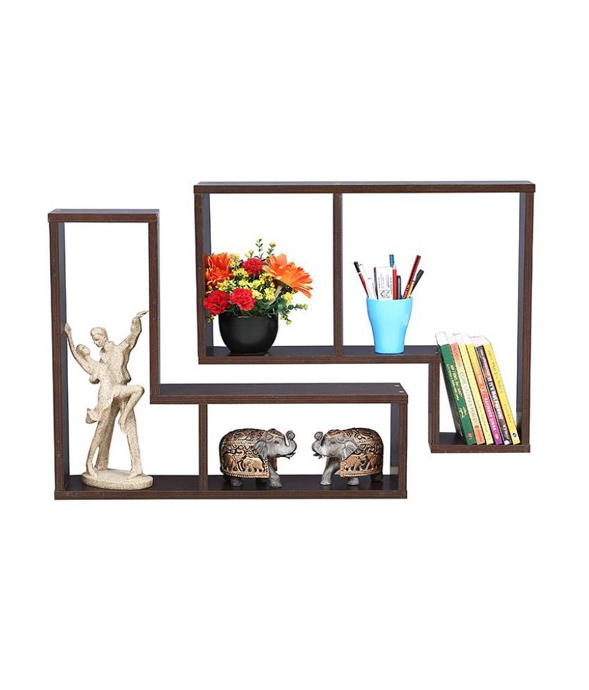 Exclusive furniture 5 tier wall shelf best price in india - Exclusive decoration of book shelf ...