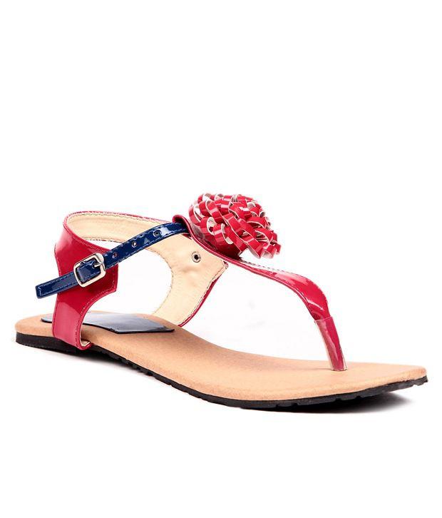 Lovely Chick Red Sandal