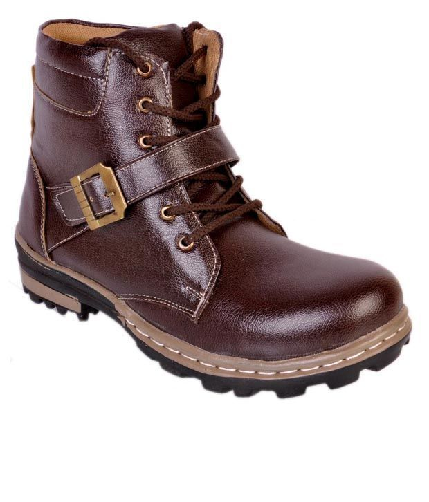 Vajazzle Brown Boots