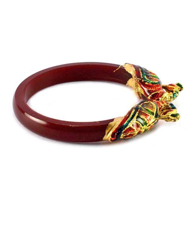 Vidhya kangan Classy bangles kara colour maroon
