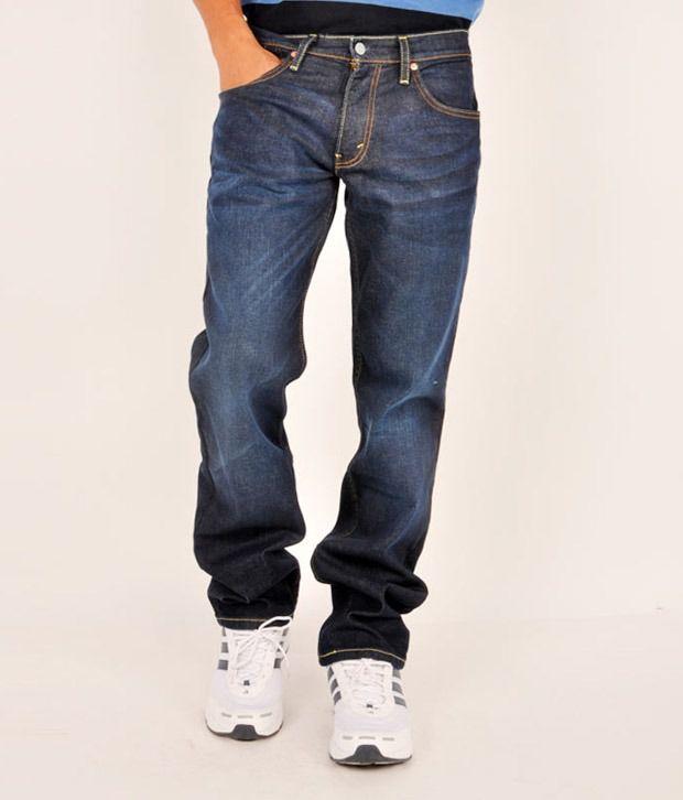 Levis Blue Slim  Fit Jeans