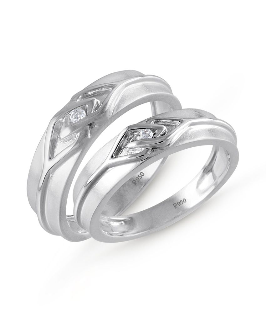 bands i her platinum hers of his ring elegant and wedding matching set love weding