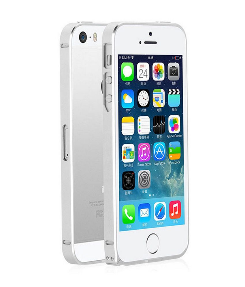 iphone 5s aluminum case apple for iphone 5 5s 0 7mm ultra thin aluminum metal 14735