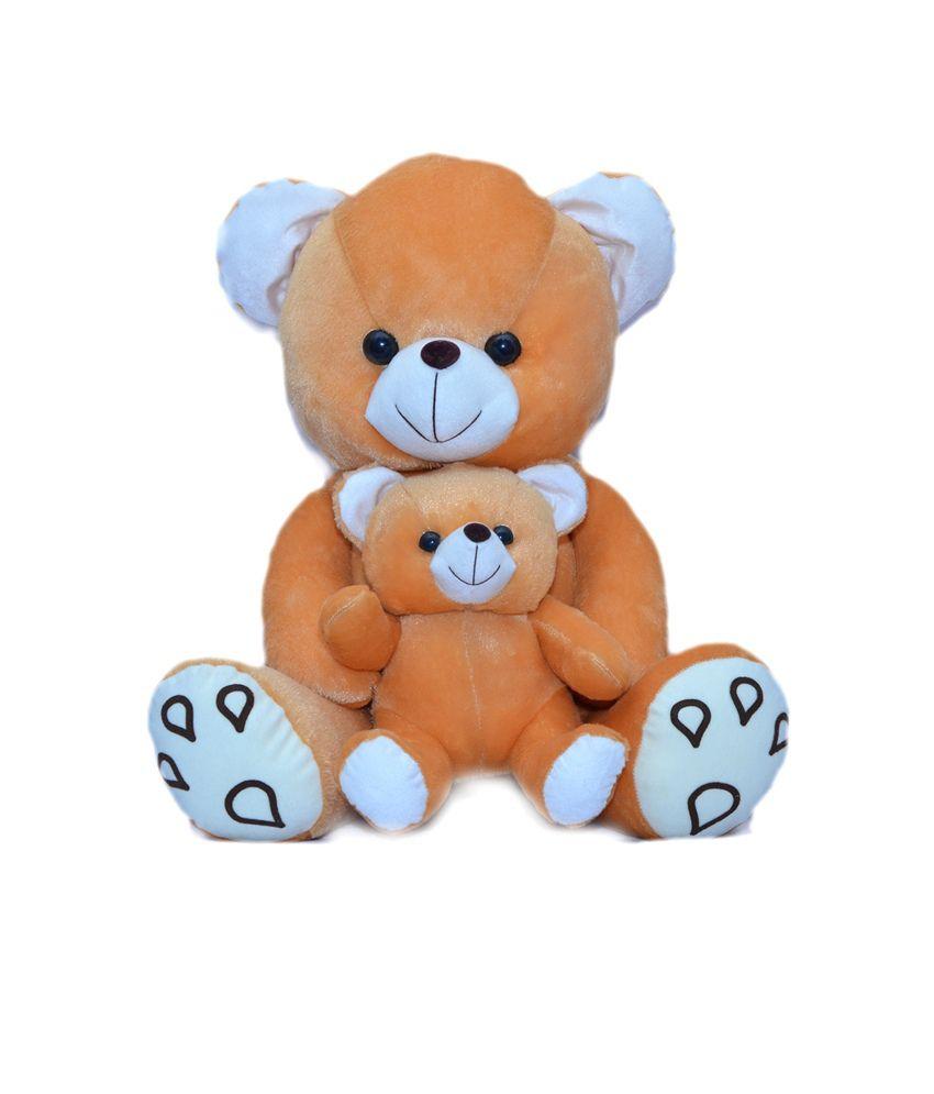 JOEY TOYS M.C. Teddy Bear 55 C.M. stuffed love soft toy for boyfriend, girlfriendS BROWN COLOUR