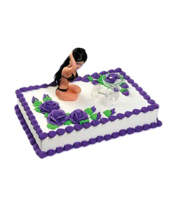A Birthday Place Multicolour Champagne Glass Plastic Sexy Bikini
