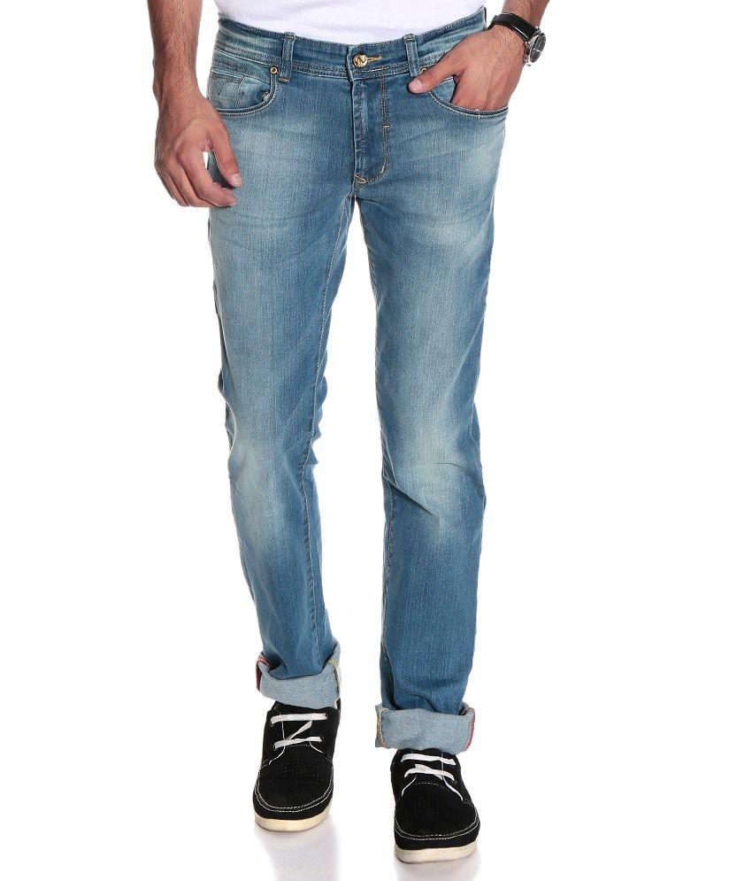 Numero Uno Blue Regular  Fit Jeans