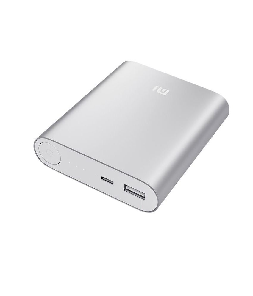 09d45cb3f Xiaomi Mi Power Bank 10400mAh Silver - Power Banks Online at Low Prices